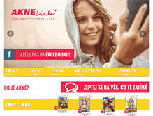 Tablet Preview of aknelinka.cz